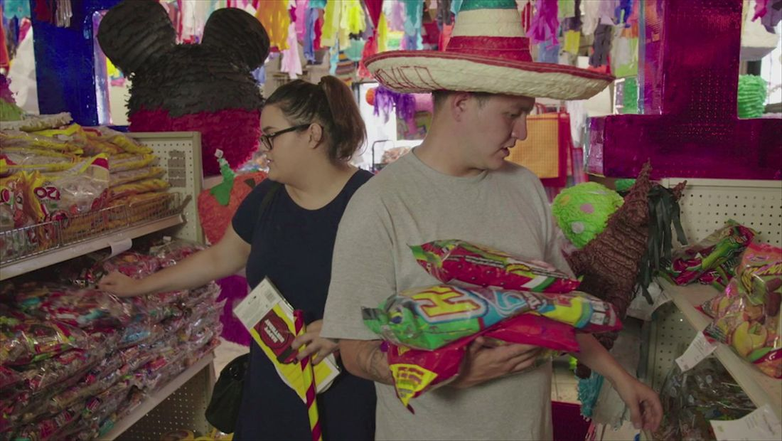 Mexican candy and piñatas
