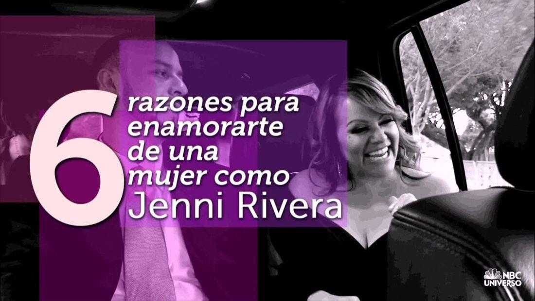 6 razones para enamorarte de una mujer como Jenni Rivera