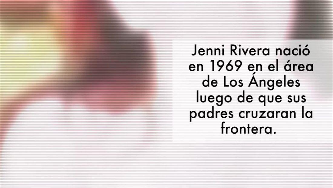 La vida de Jenni Rivera