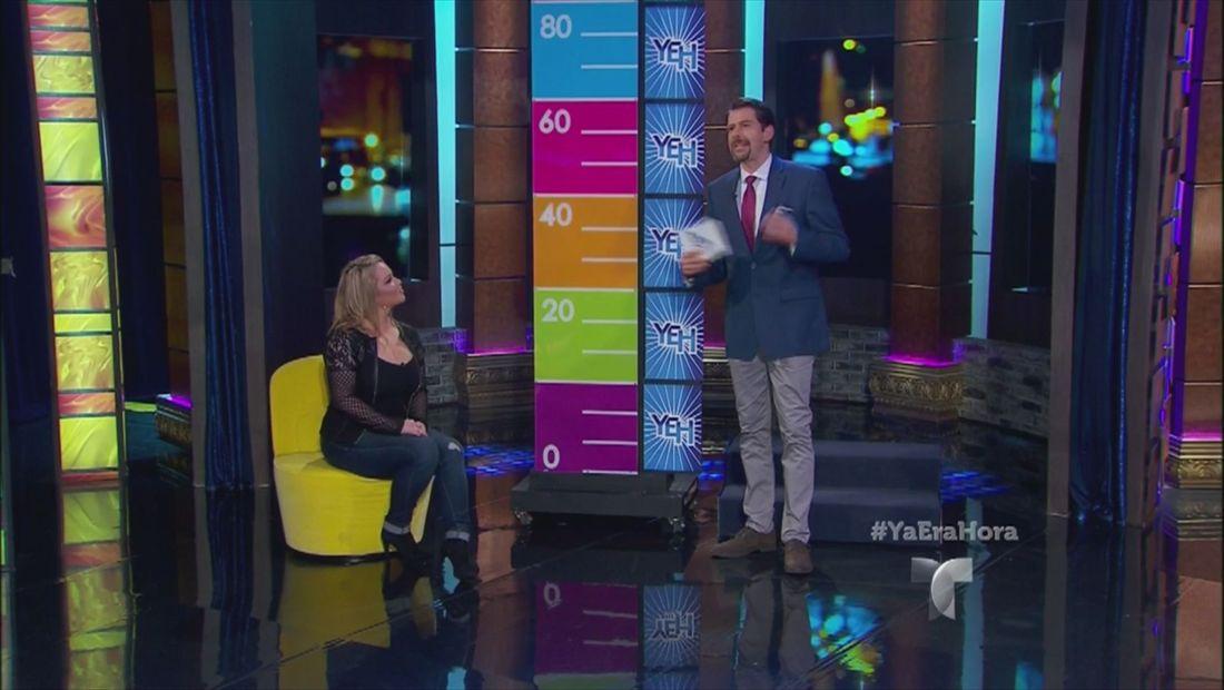 Chiquis Rivera participa en un juego cómico en Ya Era Hora (VIDEO)