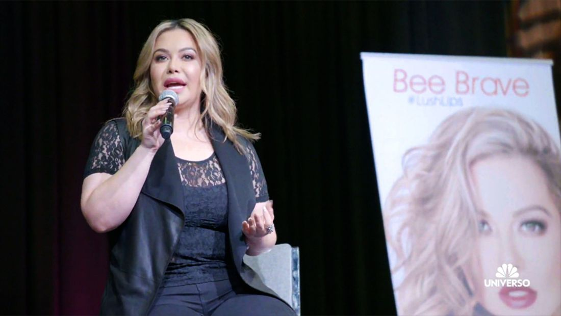 Chiquis' first speech: inspiring other women