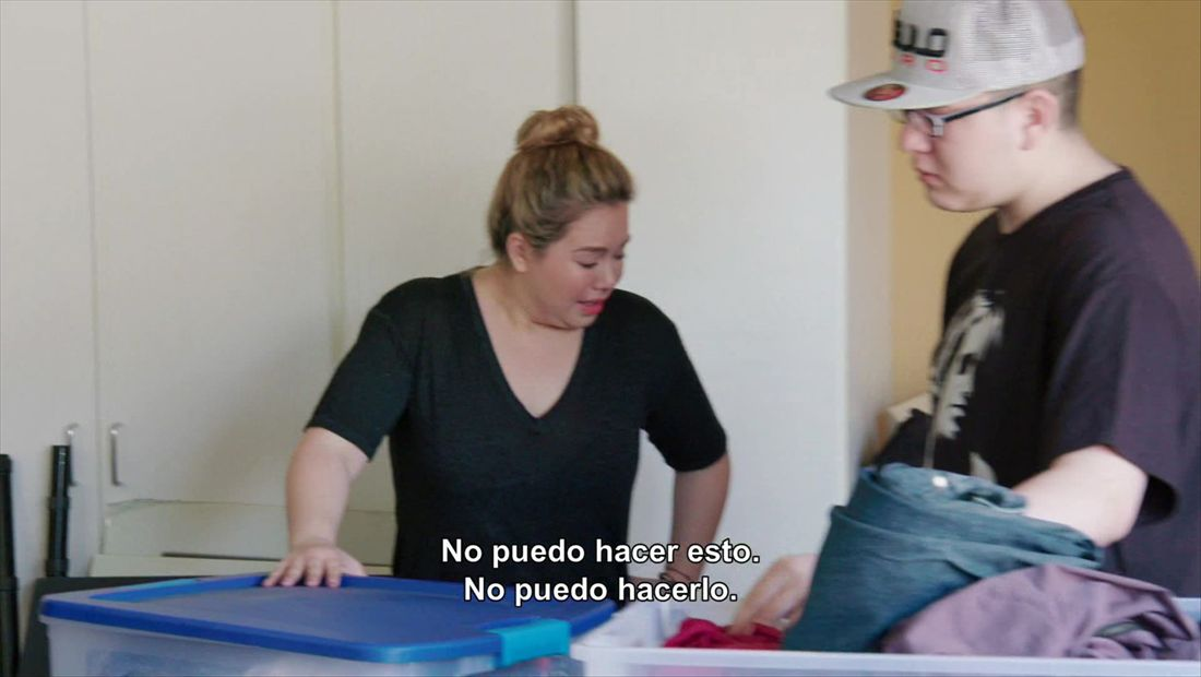 """I don't wanna do this"": Chiquis"