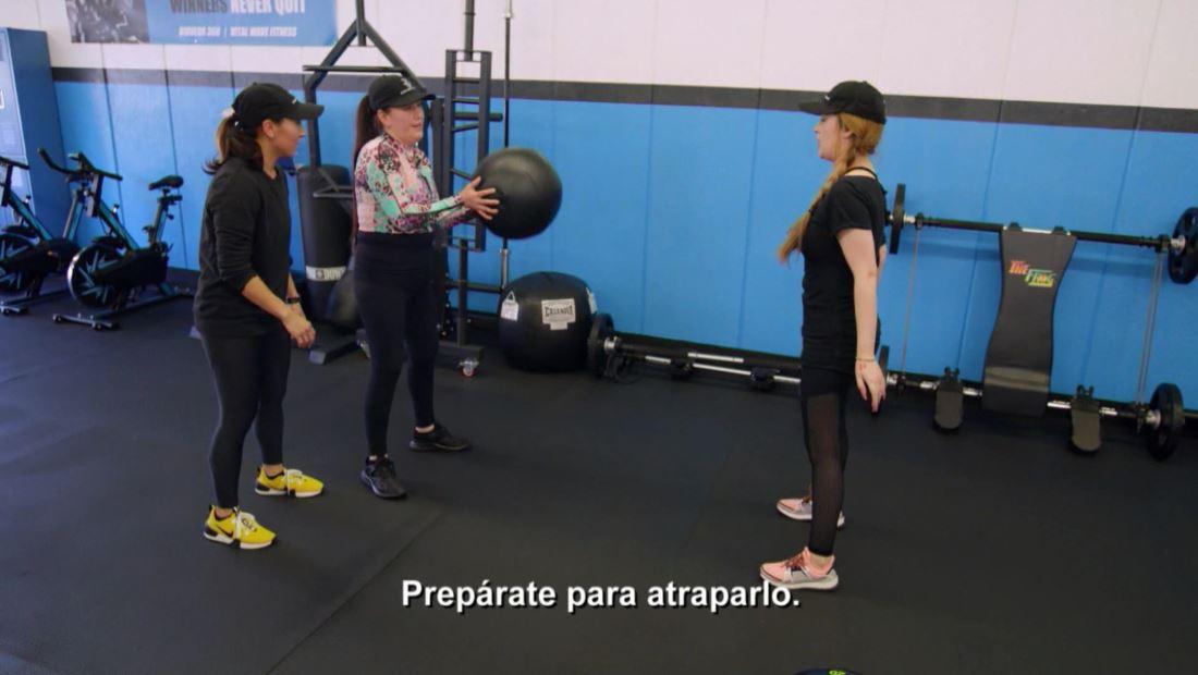El primer workout de Olivia