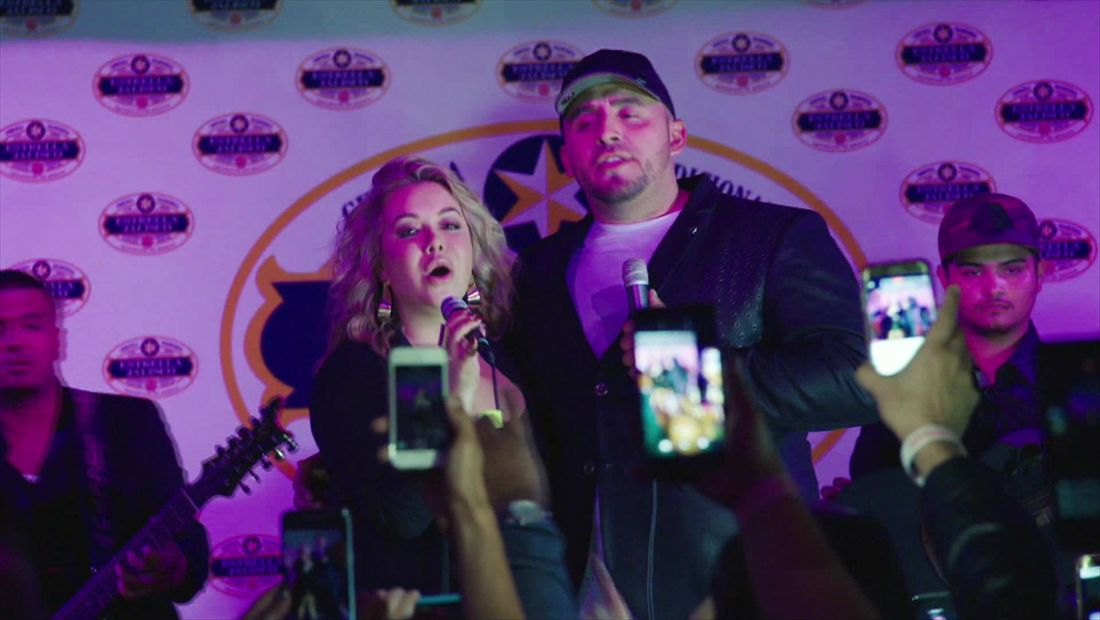 Chiquis singing drunk