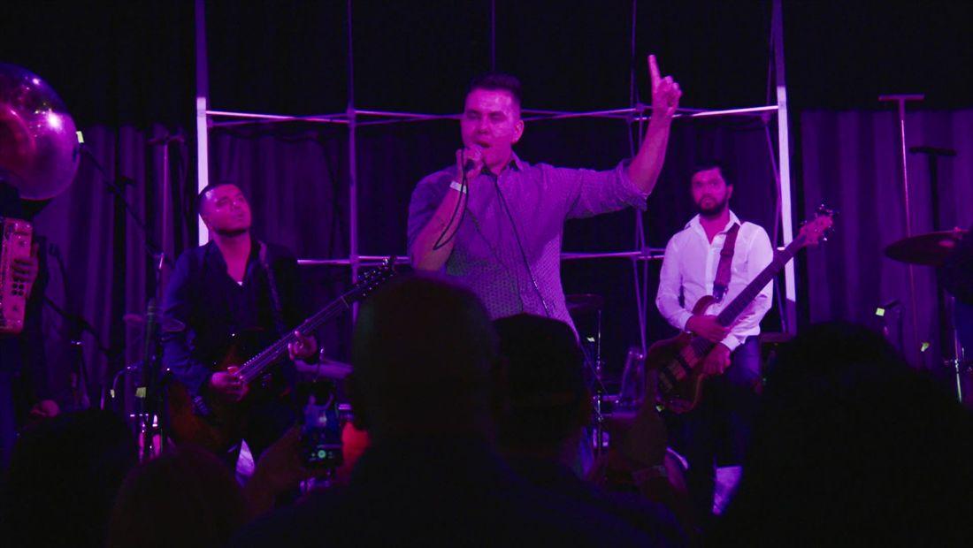 Album release party: Johnny's performance