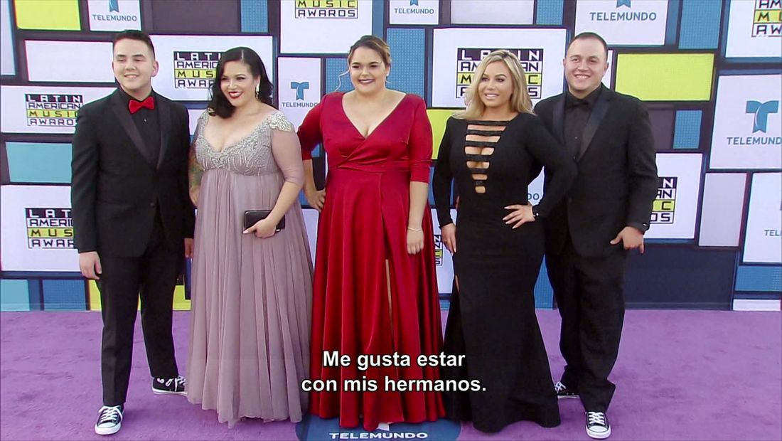 The Riveras hit the purple carpet at the LAMA's