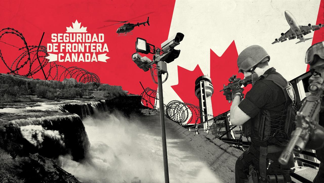 Seguridad de Frontera Canada
