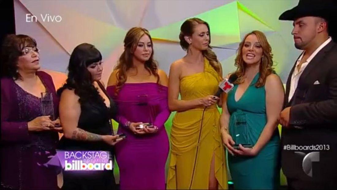 La Familia Rivera habla del tributo a Jenni Rivera | Premios Billboard 2014 (VIDEO)