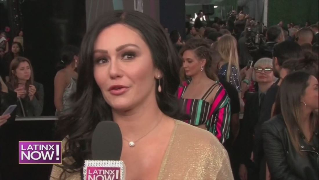 "Jenni ""Jwoww"" Farley feliz por su nominación en los E! People's Choice Awards 2018"